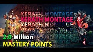 Xerath Montage - 2 Million Mastery Points - Xerath Main Best Plays