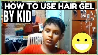 How to use set wet hair gel