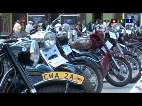 Wąbrzeźno Wystawa Starych Motocykli