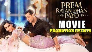 Prem Ratan Dhan Payo Movie | Salman Khan | Sonam Kapoor | Full Promotions Events 2015
