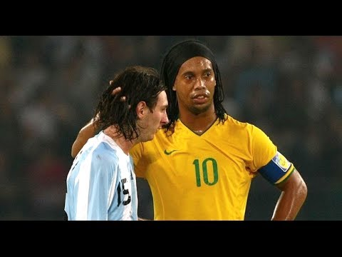 Ronaldinho & Messi ● THE MOVIE ● Two Legends One Story HD