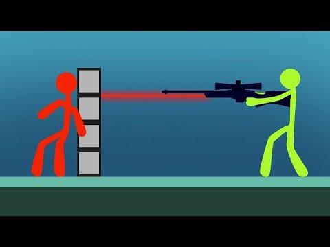 INTENSE STICK FIGHT SNIPER BATTLE Stick Fight