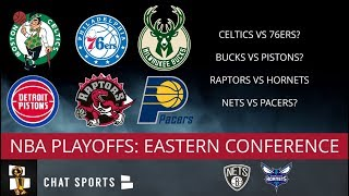 NBA Standings: Eastern Conference Playoff Picture - Giannis & Bucks Are Top Seed, Kawhi & Raptors #2