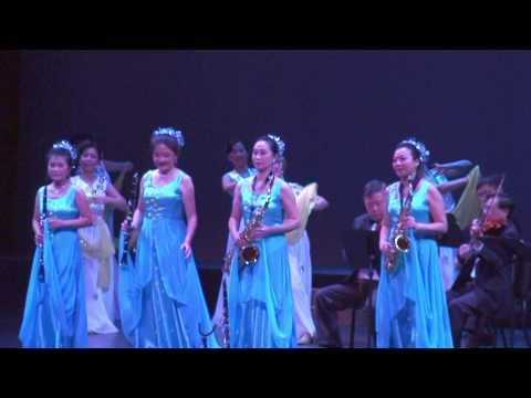 女子木管队 在银色月光下 HD