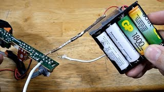 How to make a Battery Powered Soldering Iron