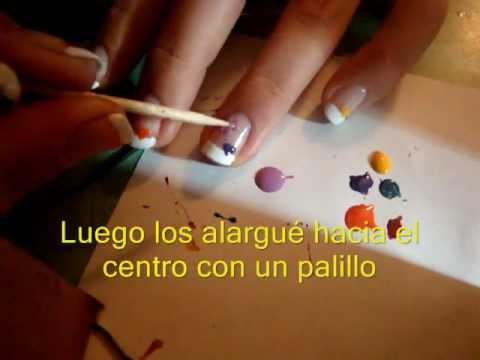 Diseño de uñas para san valentin III