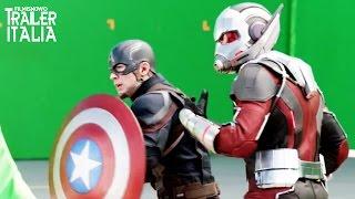 Tanta azione nel 'dietro le quinte' di Captain America: Civil War [HD]