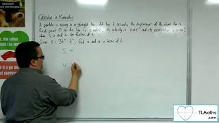 A-Level Maths: Q4-02 [Calculus in Kinematics: Example 1]