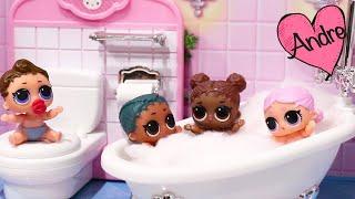 Abriendo bebes LOL Surprise Lil Sisters Serie 3 | Muñecas y juguetes con Andre para niñas y niños