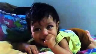 Cute Paliki Mahitha baby Funny vedioe