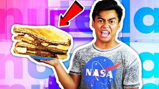 DIY How To Make NUTELLA SANDWICH!