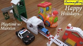 Kid's Playtime: Thomas the Tank Engine, Little Tikes Touch N Go Racer and a Bump & Go Toy Train