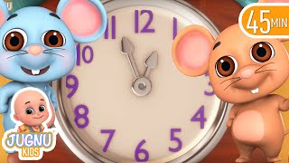 Hickory Dickory Dock | Nursery Rhymes collection from Jugnu Kids