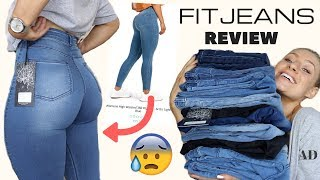 TESTING THE BEST FITTING & MOST FLATTERING JEANS?!? ARE THEY WORTH IT?   FITJEANS HAUL & REVIEW