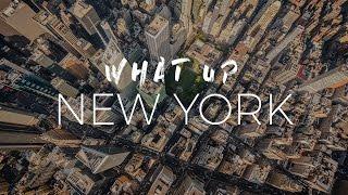 What Up New York! (4K Aerial / Timelapse / Hyperlapse video)