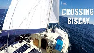 Sailing Across The Bay Of Biscay On A Small Catamaran | Sailing Kittiwake – Ep. 5
