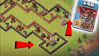 THIS IS IMPOSSIBLE TO BEAT!! 😀LEVEL 9 AIR MAZE 😀Clash Of Clans