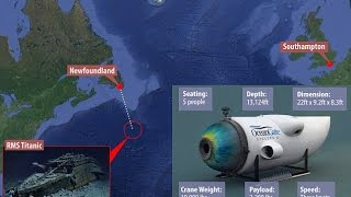 Now you can take a two-mile-deep tour of the Titanic : $100,000 a ticket :  Cyclops 2 Submersible