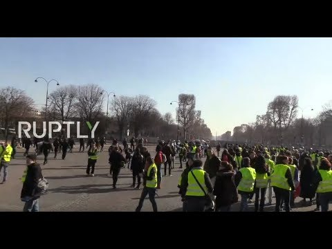 Xxx Mp4 LIVE Yellow Vest Protests Continue For 14th Straight Week In Paris 3gp Sex