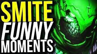 4 KILLS IN 4 SECONDS! - SMITE FUNNY MOMENTS