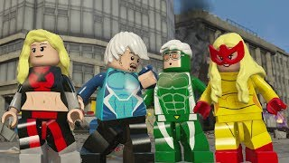 LEGO Marvel's Avengers - All Speedsters Gameplay (Mark 40, Quicksilver, Speed, Stan Lee, etc)