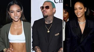 Rihanna Is Upset With Chris Brown For Disrespecting Karrueche Tran