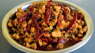 Spicy Chicken Dry Fry - Indian style Chicken dry fry