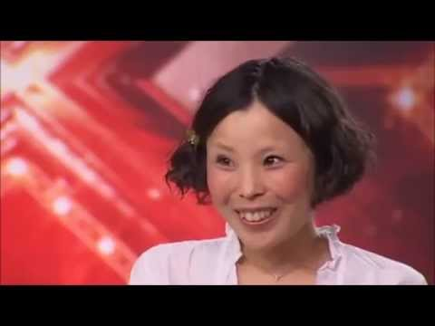 the XFACTOR audition cute Asian girl