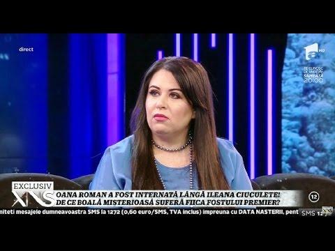 """Oana Roman a fost internată lângă Ileana Ciuculete: """"Ileana a cerut discreție maximă. Băieț"""