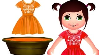 Learn Colors With Baby Doll | Color Learning Videos | JamJammies Kids Songs
