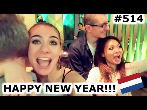NEW YEAR 2017 PARTY AMSTERDAM DAY 514 TRAVEL VLOG IV