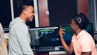 Sauti Sol x Alikiba - (Unconditionally Bae) Studio Session