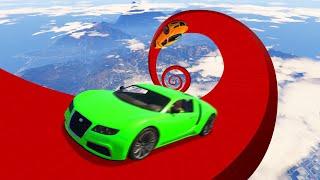 ATTEMPTING Worlds BIGGEST GTA 5 Spiral!