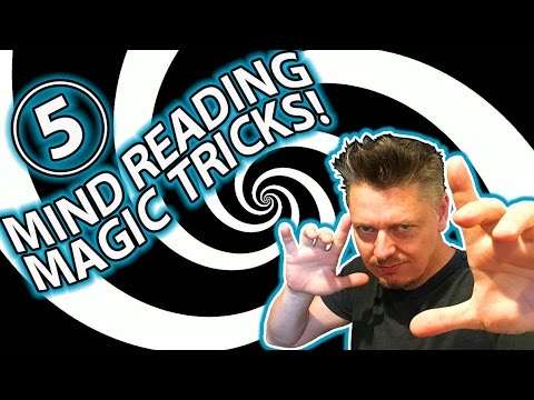 TOP 5 MIND READING Magic Trick Pranks!! (AMAZING MENTAL TRICKS!)