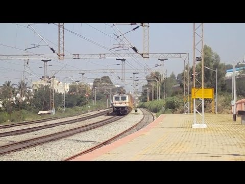 Xxx Mp4 Indian Railway MAS SBC Double Decer Express With WAP 7 RPM 30391 Slowly Skipping BYPL 3gp Sex