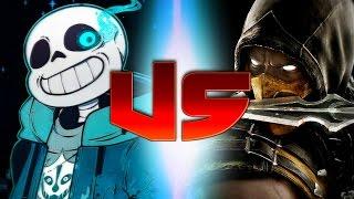 Sans Vs Scorpion (Rap Battles Of Video Games All Stars)(Season 3)