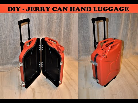 DIY JERRY CAN HAND LUGGAGE