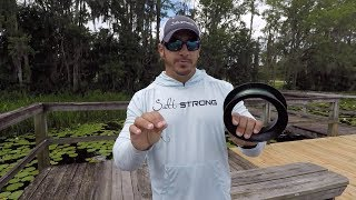 How To Use A YoYo Hand Reel To Catch Black Drum