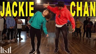 JACKIE CHAN - Tiësto ft Post Malone Dance | Matt Steffanina ft Bailey