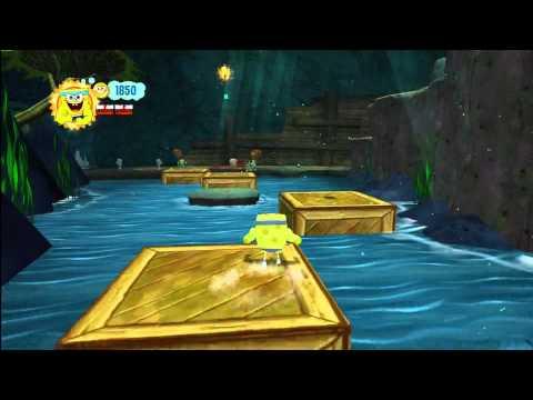 Spongebob Squarepants Truth Or Square Gameplay Xbox 360