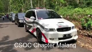CSOC Chapter Mallang Touring Karangkates-Ngliyep 9 Desember 2018 Full