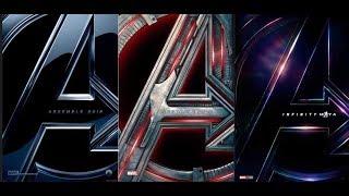 復仇者聯盟 1-3 | HD中文電影預告整理 (Avenger 1-3)