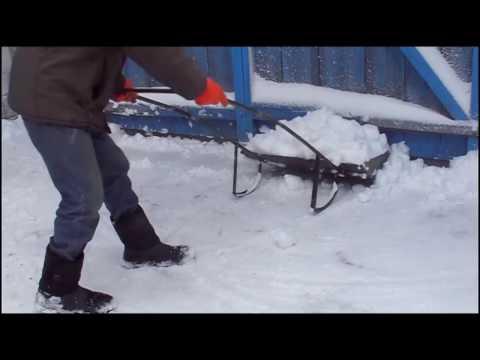 Как сделать движку для уборки снега 131