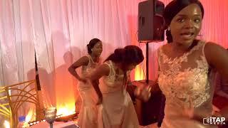 Zimbabwe's best wedding DJ & MC (DJ Munya & Natty MC) with the older (30yrs & above) on dance flow