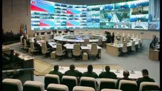 A Look Inside Putin's Massive New Military Command and Control Center