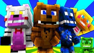 FNAF World - VIRTUAL FREDDY NIGHTMARE! (Minecraft Roleplay) Night 3