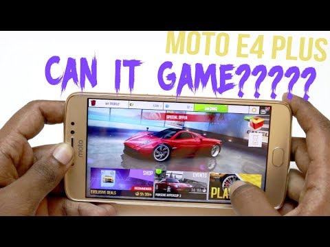 Moto E4 Plus Gaming Review With Heavy Games | Hindi |