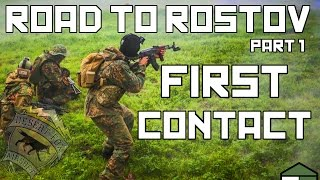 Milsim West Road To Rostov Part 1: First Contact (40 hour Airsoft Game)