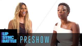 Preshow: Laverne Cox vs. Samira Wiley | Lip Sync Battle