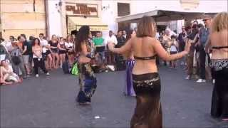Italy/Rome (Oriental dance,under the shadow of Pantheon) Part 10/84